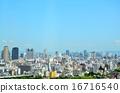 오사카 아베노바시 터미널 빌딩의 전망 (우메다 방면) 16716540