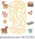 chick, animal, maze 16722361