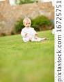 adorable, playing, infant 16725751
