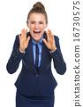女企业家 女性白领 女商人 16730575