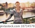 city, female, portrait 16734578