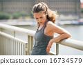 athlete, weariness, sportswear 16734579