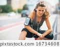 athlete, tiredness, weariness 16734608