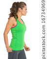 young, sportswear, female 16734969
