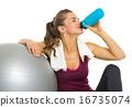 water, relaxing, ball 16735074