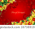 greeting, card, Holly 16736919