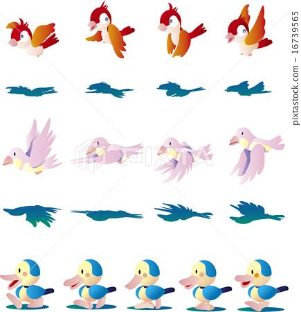 矢量 鸭子 鸭 16739565