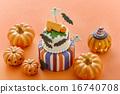 蛋糕 萬聖節 南瓜 16740708