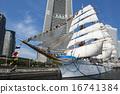 Sailing ship Nihon Maru's total sail exhibition sail · full bow decoration 16741384