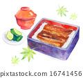 水彩畫 總和 日式風格 16741456
