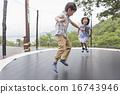 跳 跳躍 昂首闊步 16743946