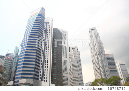 新加坡金融区(沉桐卫)的形象 16748712