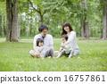 和家人一起野餐 16757861