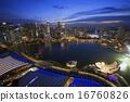 夜景 新加坡 大樓 16760826