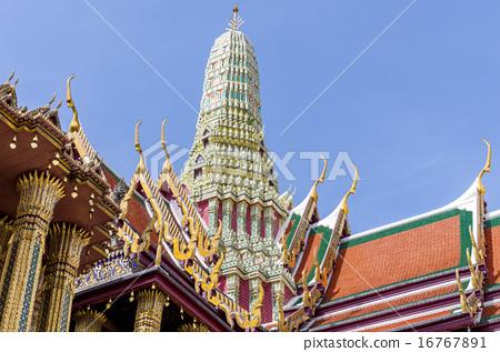 와트 【푸라 케오】 에메랄드 사원 방콕 16767891