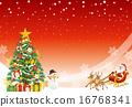 馴鹿 聖誕樹 耶誕節 16768341
