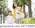 家庭主婦和女兒 16779880
