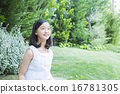 verdure, young girl, parks 16781305