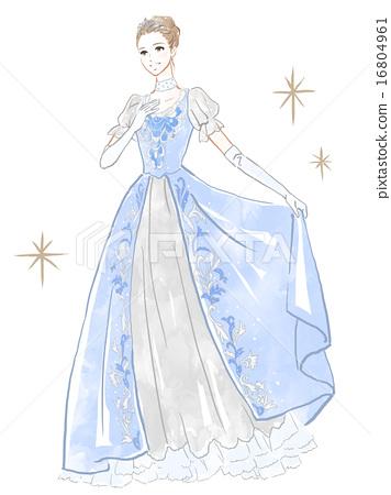 盛装打扮 公主 王妃 16804961