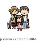 3人家庭 16808866