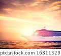 Yacht Cruise Ship Sea Ocean Tropical Scenic Concept 16811329