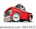 Cartoon Pickup 16814612