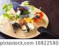 日式料理 秋 松茸 16822580