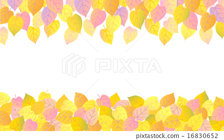 Autumn background fallen leaves 2 16830652
