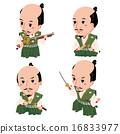 織田信長 和服 戰士 16833977