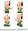 nobunaga oda, military commander, man's formal divided skirt 16833977