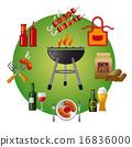 图标 烧烤 饮料 16836000