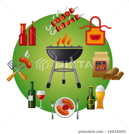 barbecue icon 16836000