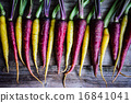 Colorful carrots 16841041
