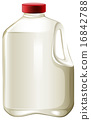 Fresh milk 16842788