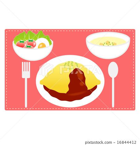 Food (omelette set) 16844412