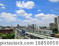รถไฟซีรีย์ 6000 และท้องฟ้าสีครามของสาย Tokyo Metro Chiyoda 16850059