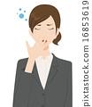 女企业家 女性白领 女商人 16853619