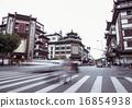 Shanghai city god temple, shanghai city street 16854938