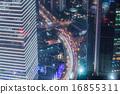 shanghai cityscape 16855311