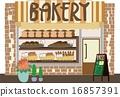 bakery, bakeries, vector 16857391