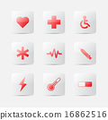 Medical icons. Vector illustration 16862516