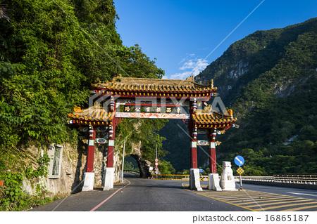 在亞洲台灣的台中太魯閣國家公園 16865187