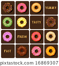 collection of doughnuts 16869307