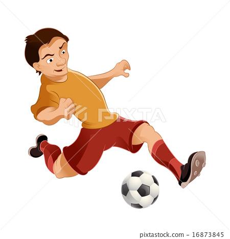 Soccer player 16873845