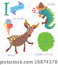 Very cute alphabet.I letter.  16874378