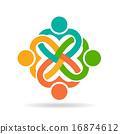 People heart love logo 16874612