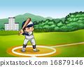 Baseball 16879146