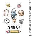 Start up idea concept vector 16881347