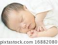 寶寶 睡相 寶貝 16882080