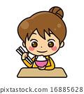 米 矢量 用餐 16885628